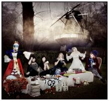 Tea Party Gone Awry by Doubtful-Della