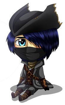 Chibi Hunter by MythicalWolfAngel