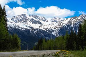 A Long Drive through Beautiful Mountains by adanielescu