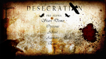 Desecration - Main Menu Design by Vahki530