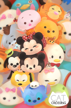 Tsumtsum by CatCrossing