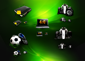 sport icon collection by webdesigner1921