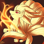 Day 7-Ninetales by ParadigmPizza