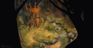 Warcraft 3 Ancient of Lore by Emiljart