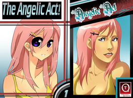 Angelic Act chp1 cover v2 by Dirkajek144