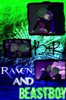 Beastboy and Raven Collage by camacam11