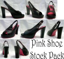 Pink Shoe Stock Pack by XdemonicXstockX