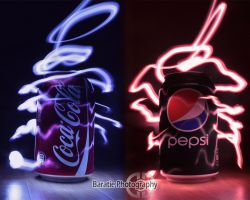 Pepsi vs. Coke by BaratiePhotography