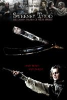 Sweeney Todd Poster Entry 2 by Leafwoodfurry