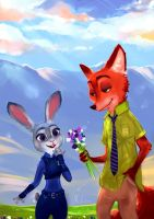 Zootopia by Mellodee