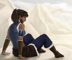Avatar Korra by TheMaggiezine