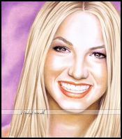 Britney in colour by Zindy