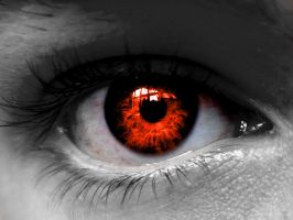 Red eye by spiritusofincendia