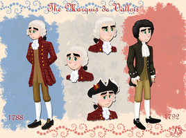 TGD: The Marquis de Vallois by MoodyBeatleGirl