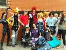Alcon2013 - Roxas, Axel and Selene With Parle by BritishBumpkins
