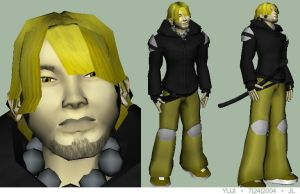 yuji game model wip004 by kurocrash