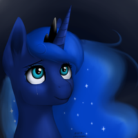 Princess Luna by Docnyaka