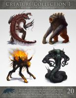 Creature Collection 1 by Cloister