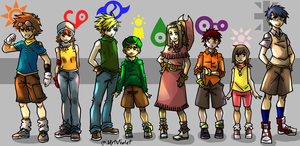 Digimon by MrtViolet