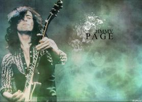 Jimmy Page Wallpaper by cynicxirony