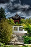 chinese garden by Drezdany-stocks