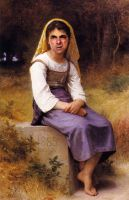 Bouguereau Bean Meditation by RodneyPike