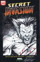 Wolverine sketchcover by adelsocorona
