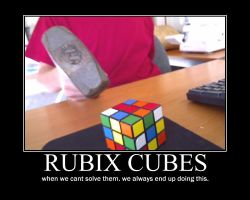 Rubix cubes motivational by bmunoz414