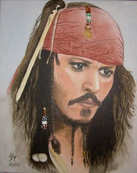 Captain Jack Sparrow by patience9663