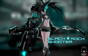.: Black Rock Shooter :. by segawa2580
