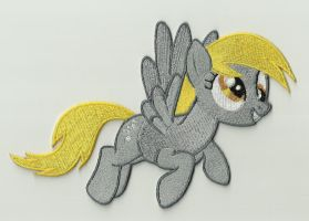 Derpy Embroidered Patch by Spaceguy5