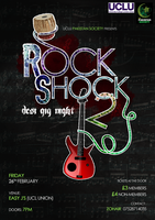 Rock Shock Poster by shortdesigns-x