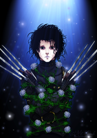 Edward Scissorhands by TMAcommission