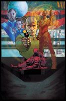 Agent of the Empire: Hard Targets # 1 by StephaneRoux