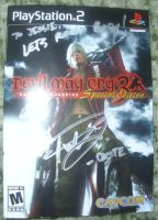 Autographed DMC3 by RayneDarkknight