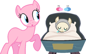 Mare and her newborn-Base by RiakaPepsiPony