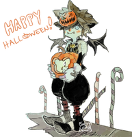 KH: This is Halloween by saltycatfish