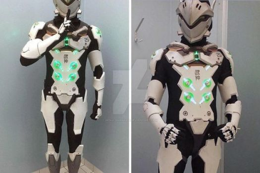 the best Armour you seen by Genji-Shamada