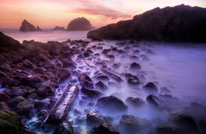 Cliffs of Sutro Baths by geolio