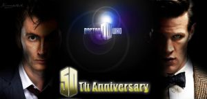 Doctor Who 50th Anniversary by Ferrlm