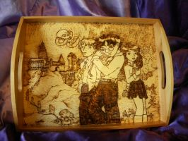 Harry Potter Tea Tray I by thedustyphoenix