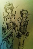 The Black Hand Assassins ~Canter and Daizy by Yavanni