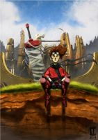 Deep in Thought by cjcenteno