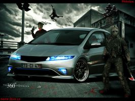 Honda Civic Type by phantondesign