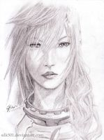 FF XIII-2 - lightning by silk501