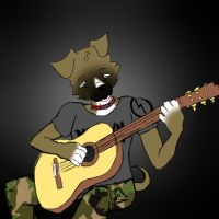 Niels play us a riff by A-Grey-Dream