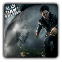 Alan Wake Game Icon by PesrepuS