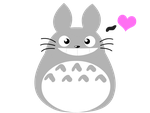 Totoro by snowzahedghog