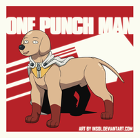 ONE PUNCH DOG Saitama by Insol
