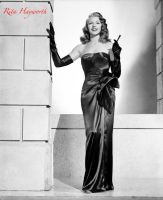 Rita Hayworth by HalloweenMAGE